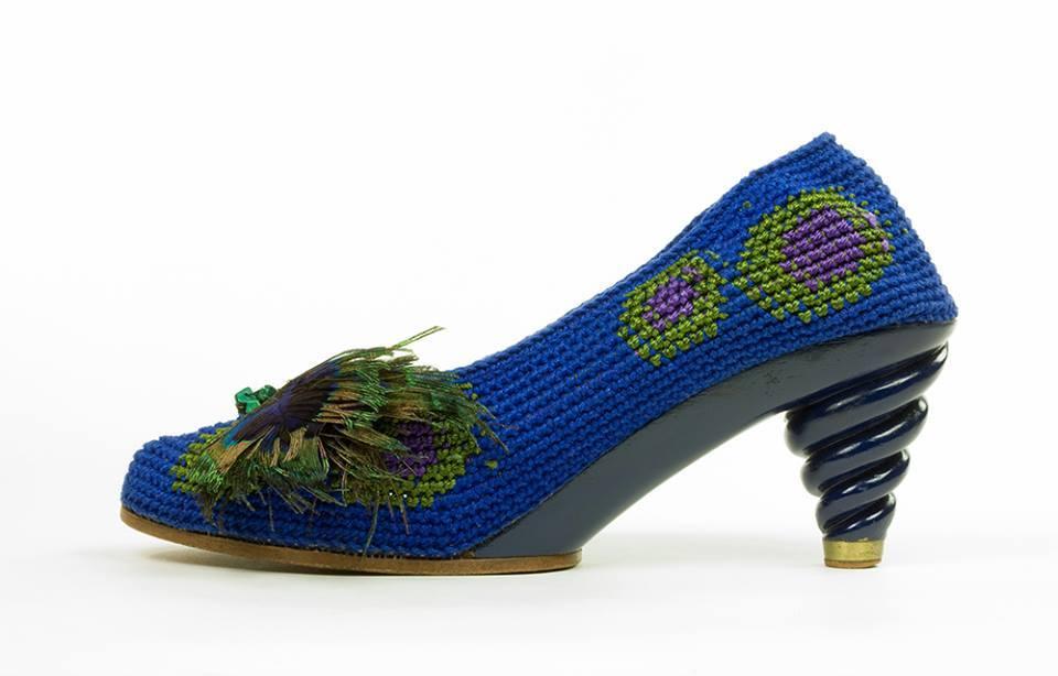 Ooit eerder zulke mooie gehaakte schoenen gezien?