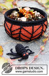 Mand En Spin Haken Voor Halloween Ouderwets Haken
