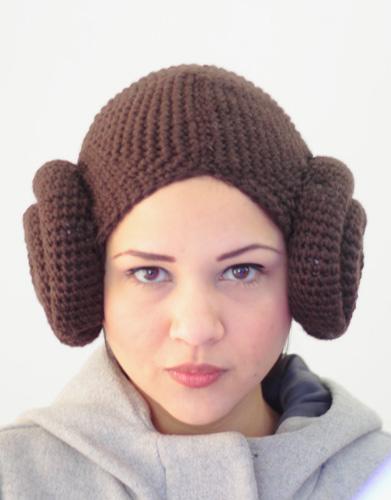 Star Wars Prinses Leia Muts Haken Ouderwets Haken