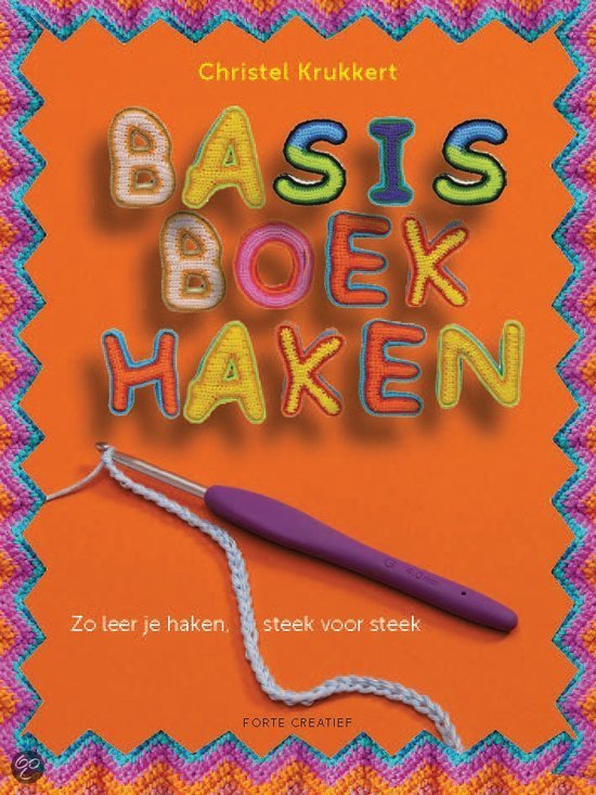 Basisboek haken van Christel Krukkert