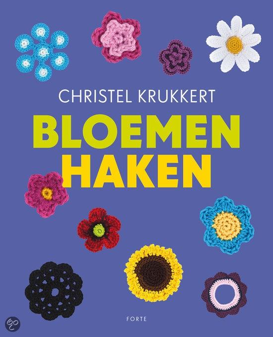 Bloemen haken van Christel Krukkert